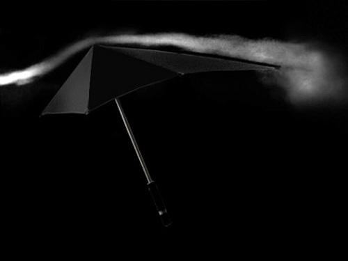 SENZ Umbrella Aerodynamics