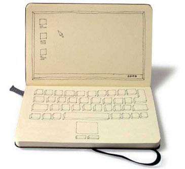The legendary notebook now italian