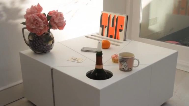 un tavolo multiforme